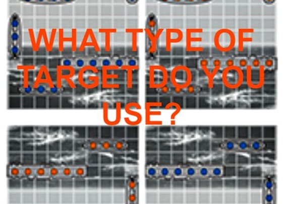 Poll: What Type Of Target Do You Use? - Gears of Guns