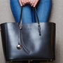 Leoht Tote has technology in the bag