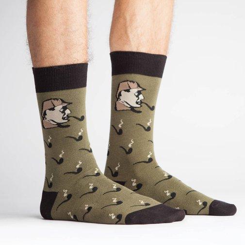 Sherlock Holmes Socks by Sock It To Me