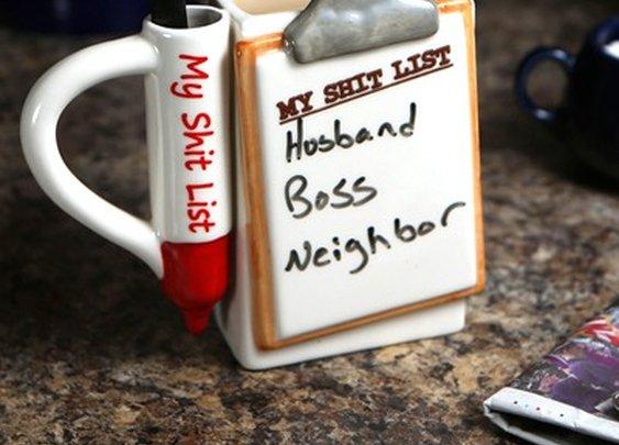 Shit List Mug