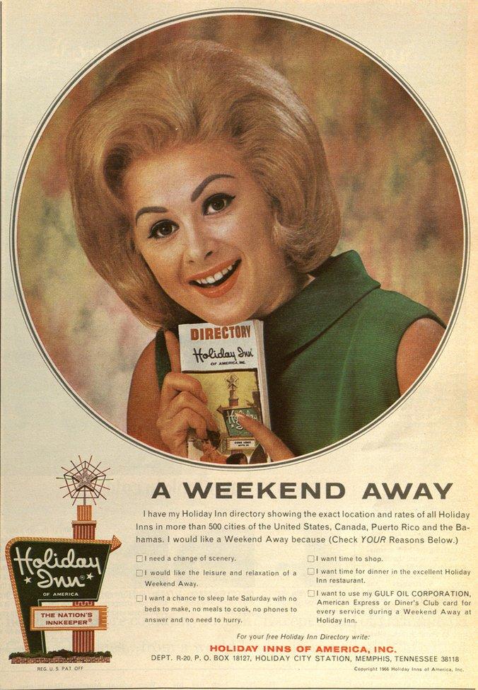 1966 Holiday Inn Ad