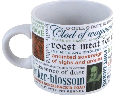 Shakespearean Insults Mug - Shakespeare Insults