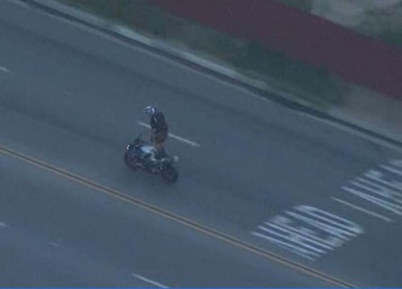 Motorcyclist Taunts Cops During High-Speed Pursuit | NBC Southern California