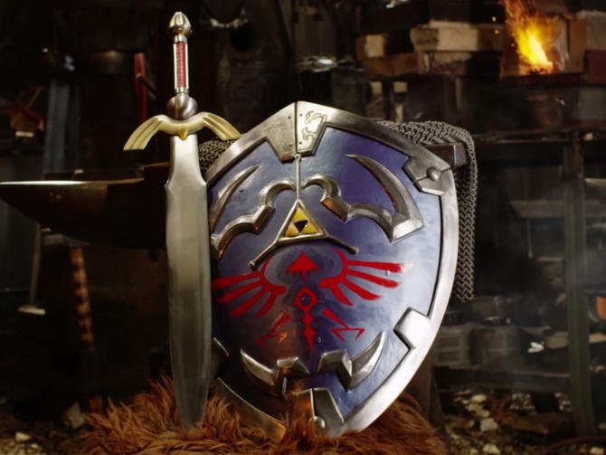 Real-life Legend of Zelda shield could withstand a medieval battle - CNET