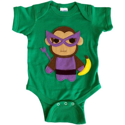 Monkey Man Superhero Bodysuit