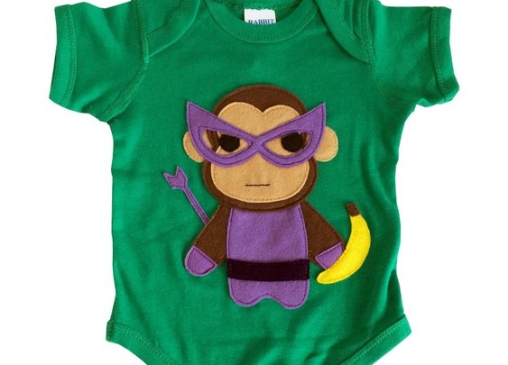 Monkey Man Superhero Bodysuit