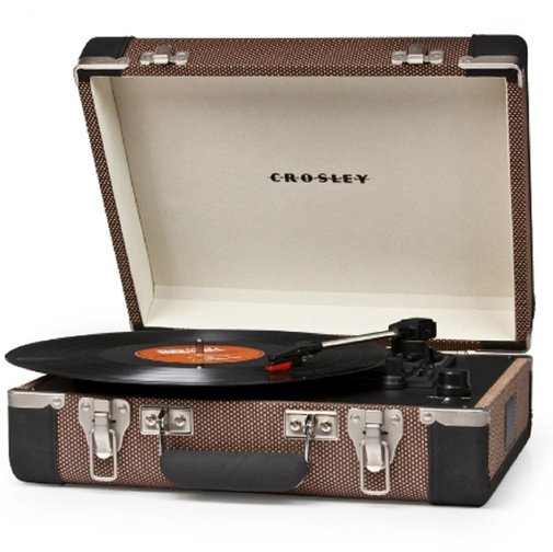 Crosley Executive Portable USB Turntable - Plays Records and Converts to Digital - Whimsical & Unique Gift Ideas for the Coolest Gift Givers