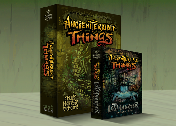 Ancient Terrible Things: The Lost Charter + 2nd Edition by Pleasant Company Games — Kickstarter