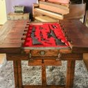 Wooden Table with Concealed Gun Storage | StashVault