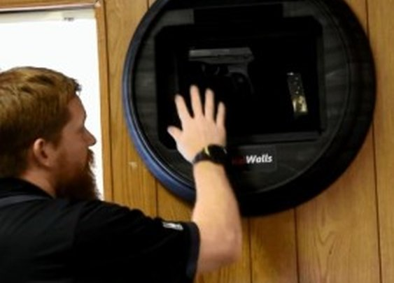 Hide Your Glock In Clock Or TissueBox