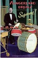 Vintage Slingerland Snare Drums