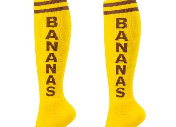 Bananas Unisex Athletic Socks - Whimsical & Unique Gift Ideas for the Coolest Gift Givers