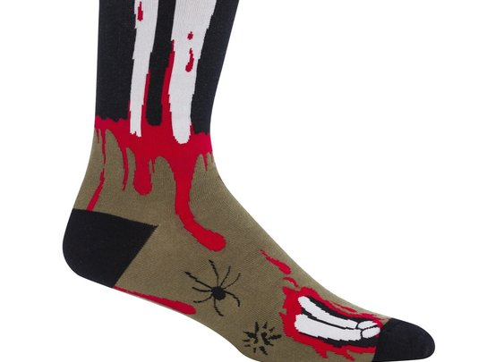 Sock it to Me The Socking Dead Men's Crew Socks - Whimsical & Unique Gift Ideas for the Coolest Gift Givers