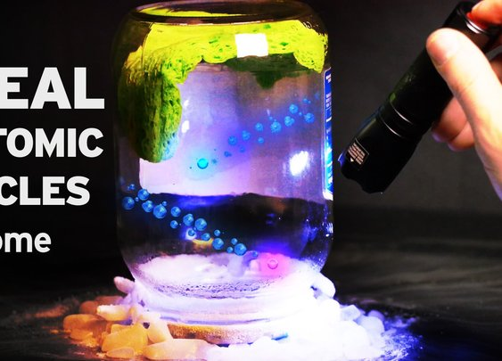 How to Reveal Subatomic Particles at Home | NOVA - YouTube