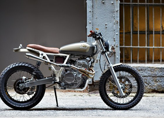 Daniel Peter's XR650 | Bike EXIF