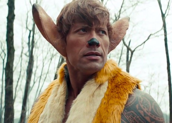 Live-action remake of 'Bambi' stars The Rock
