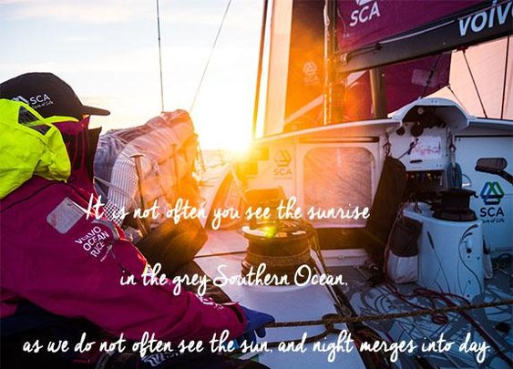 All Female Team Competing in the Volvo Ocean Race, the World's Toughest Sailing Race| Skimbaco Lifestyle | online magazine
