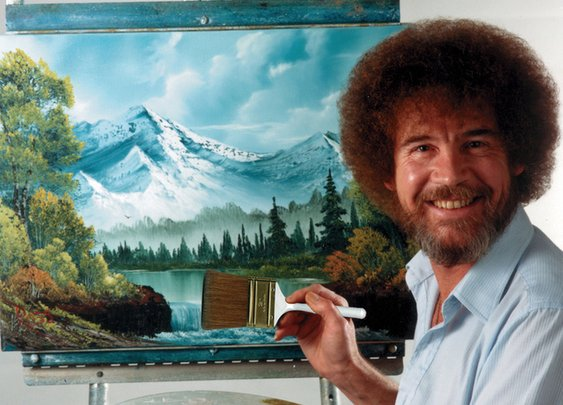 23 Happy Little Bob Ross Facts Most Viewers Never Knew