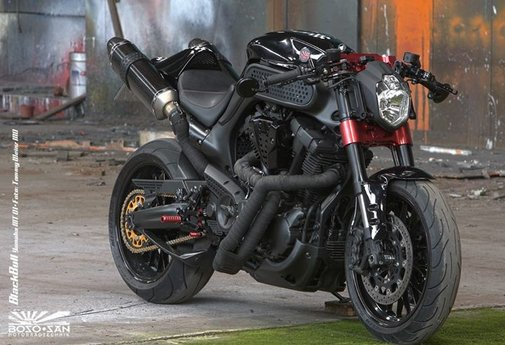 Bike EXIF - Boso San Black Bull—Yamaha MT01 | Facebook