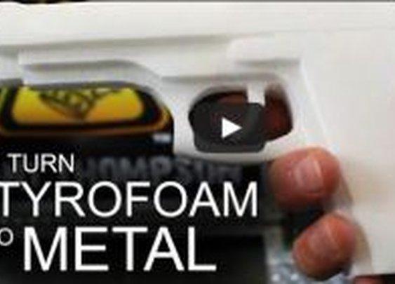 The New DIY Firearms: Aluminum &Styrofoam
