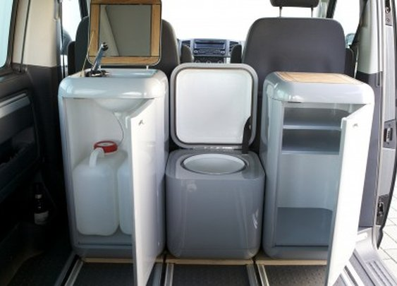 Modular Buddy Box furniture makes your van all kinds of recreational vehicles