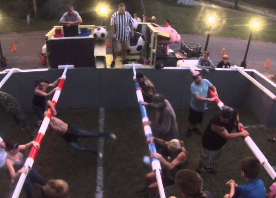 Human Foosball Tournament