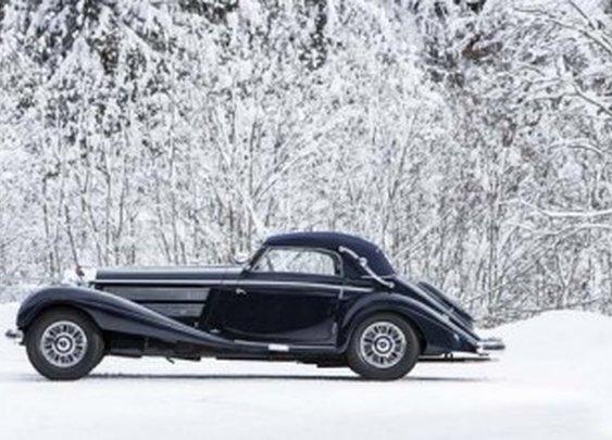 1938 Mercedes-Benz 540K Sold For $2.98 million