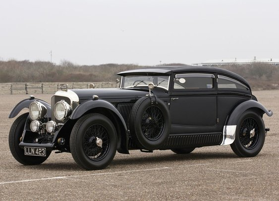The Whole Car - 1930 Bentley 'Blue Train' Recreation