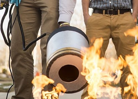 Subwoofers Make Surprisingly Effective Fire Extinguishers