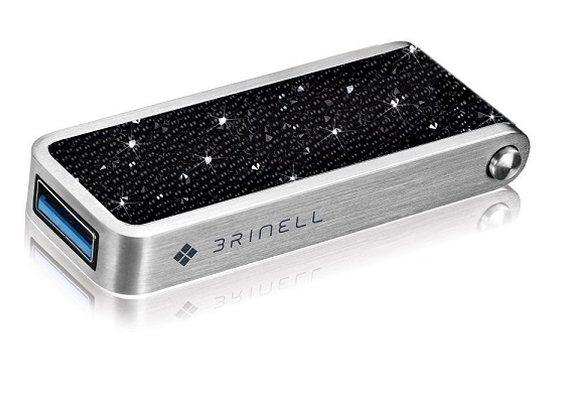 Brinell Jet Hematite Flash Drive