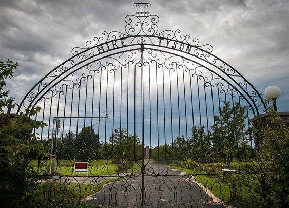 Inside Mike Tyson Lost Mansion - SPORTFANZINE