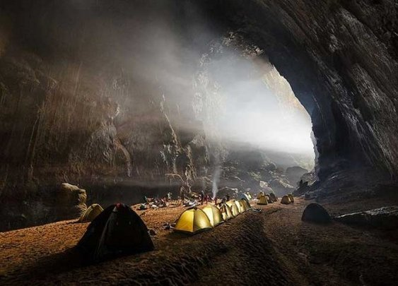Massive Vietnamese Cave