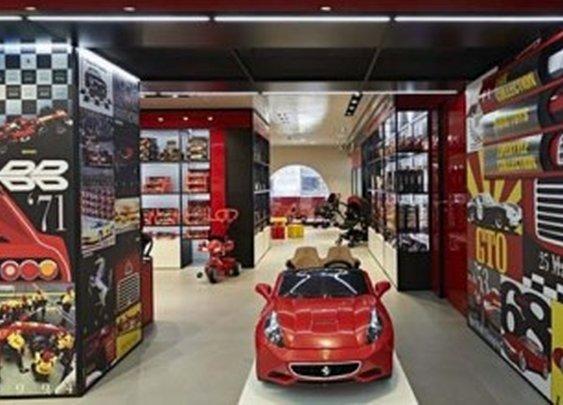Ferrari Opens New Flagship Store In Milan