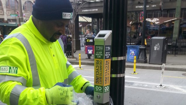 Now we're even recycling cigarette butts in Seattle - Puget Sound Business Journal
