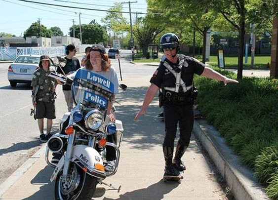 Pictures of Cops Being Awesome