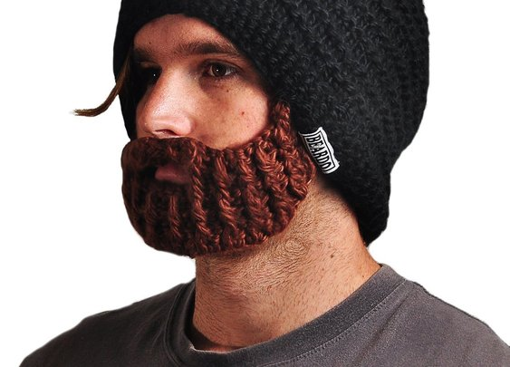 Original Beardo Foldaway Beanie Wool Hat