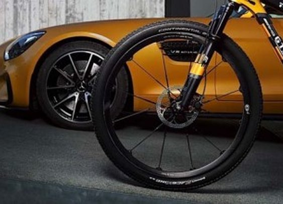 Rotwild GT S Mountain Bike inspired by Mercedes‑AMG GT