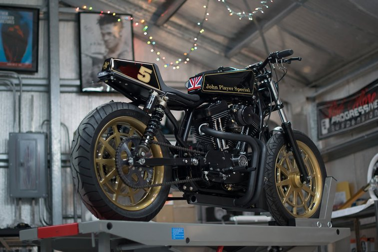The Player: DP Customs' Racy 1200 Sportster | Bike EXIF