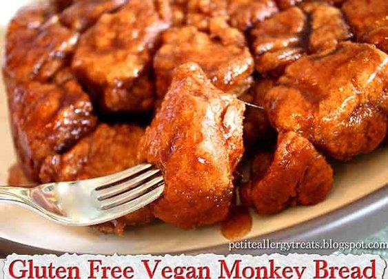 Gluten Free Vegan Monkey Bread