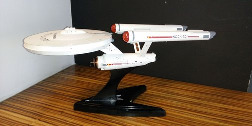 This Model USS Enterprise Is a Wi-Fi Router