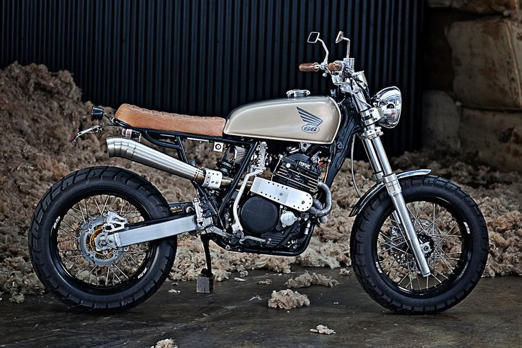 From Safari to Street: 66 Motorcycles' XR600 | Bike EXIF