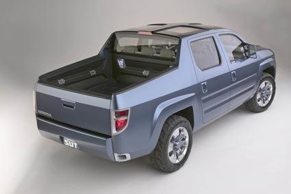 Honda's next generation SUT Truck Concept | Gizmag