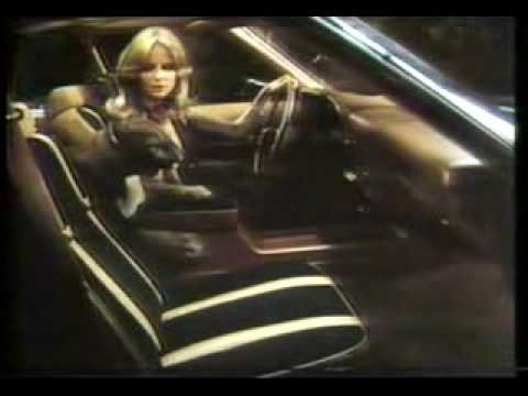 Cheryl Tiegs  '78 Mercury Cougar XR-7 Commercial