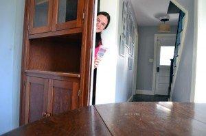 DIY China Cabinet Secret Closet Door | StashVault