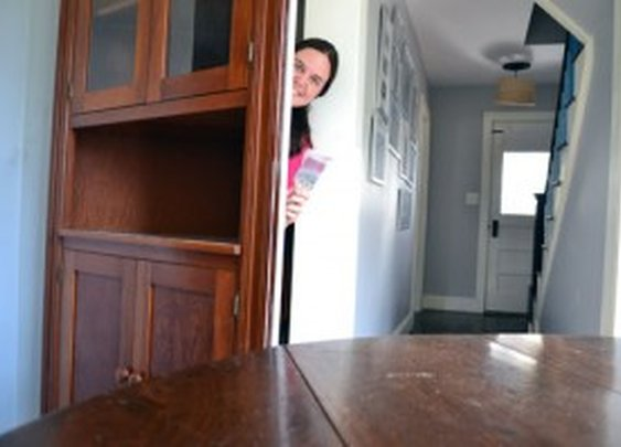DIY China Cabinet Secret Closet Door | StashVault