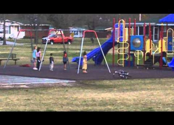 Marine Corps kids respect on the playground. COLORS!! - YouTube