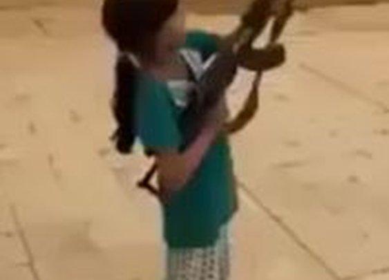 Little Girl AK47Fail