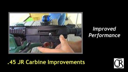 JR Carbine .45 ACP Improvements
