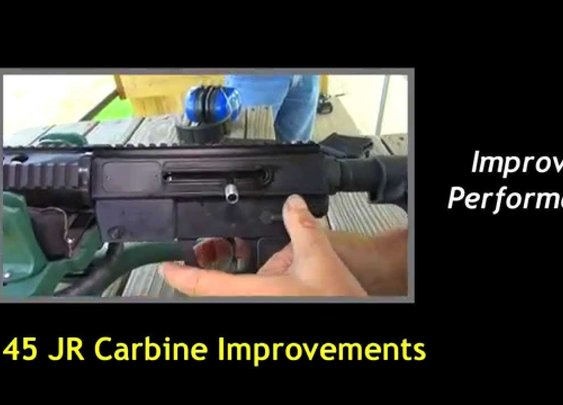 JR Carbine .45 ACP Improvements