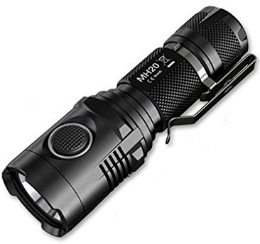 Nitecore MH20 - 1000 lumens packed into a four inch long package - final30.com Tactical Flashlight Reviews